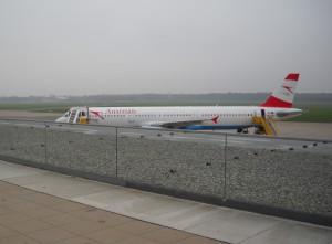 Aussichtsterrasse: Flughafen Graz-Thalerhof