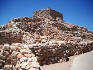 Früher Pueblo-Stil: Tuzigoot