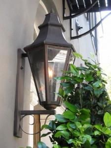 Gaslampen beleuchten die Straßen: Charleston
