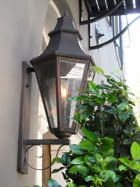 Charleston-Gaslampe
