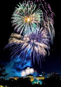 Feuererk in Philadelphia - Foto: J. Fusco für VISIT PHILDADELPHIA