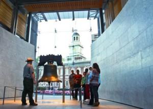 Liberty Bell, die Freiheitsglocke - Foto: D.Cruz für VISIT PHILADELPHIA