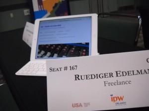 Der Marktplatz der Medien während des IPW