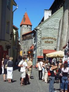 Die Altstadt von Talinn