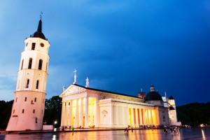 Vilnius - Kathedrale wie aus der Antike