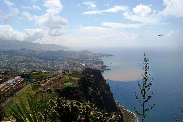Madeira-Südküste-Blick vom Cabo Girao