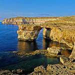 Das Azure Window in der Bucht von Dweira