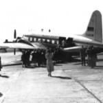 Vickers Viking vom Deutschen Flugdienst, dem Vorläufer der Condor