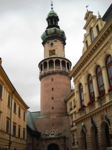 Die Altstadt von Sopron