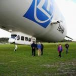 Der Start ins Abenteuer - Zeppelin NT - Rundflug
