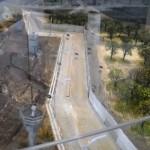 Ausstellung: Grenzanlagen von oben