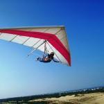 Hanggliding auf den Outer Banks (Foto: Bill Russ / VisitNC.com)
