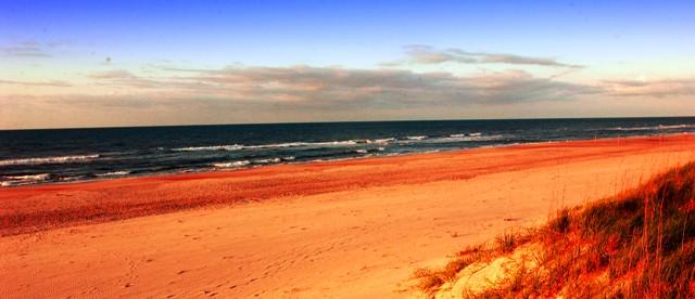 Ocracoke Beach View-BillRuss-VisitNC