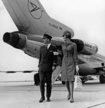 Die 1960er Jahre: Unterwegs mit der Boeing 727 - Foto: Condor