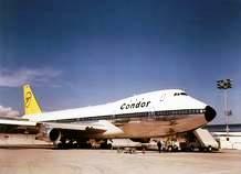 Stolz der historischen Flotte: Boeing 747-200 - Foto: Condor