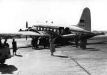 Mit Pilgern ins Heilige Land. Condor-Erstflug am 29.03.1956 - Foto: Condor
