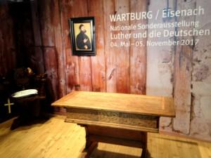 Lutherstube auf der Wartburg (Nachbau zur ITB)