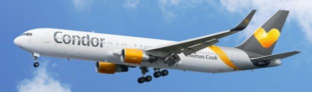 """Sunny Heart"" - Aktuelle Lackierung der Condor 767-300 ER"