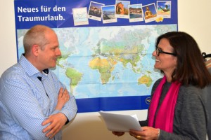 Erfahrungsaustausch nach DRR-Interview: Christine Berger-Danziger & Johannes Winter