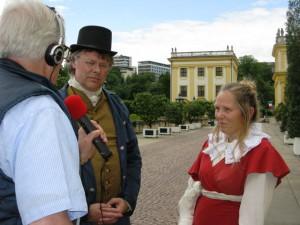 Lotte und Lui Grimm alias Sylvia und Wolfgang Schmelzer im DRR - Interview