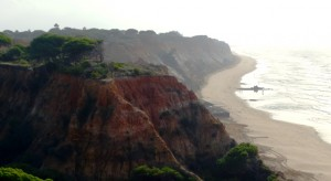 Felsenküste bei Albufeira