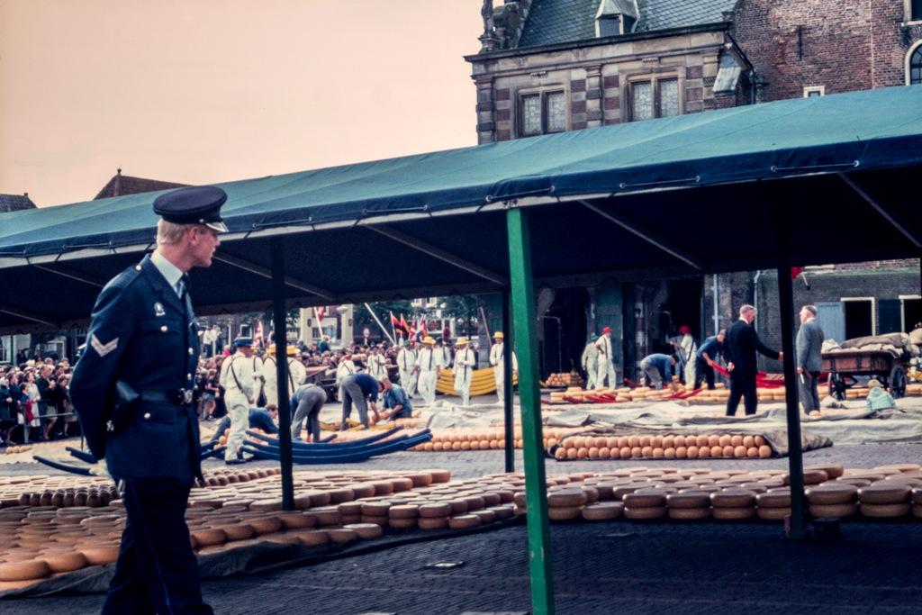 Alkmaar 1967-Kaasmarkt