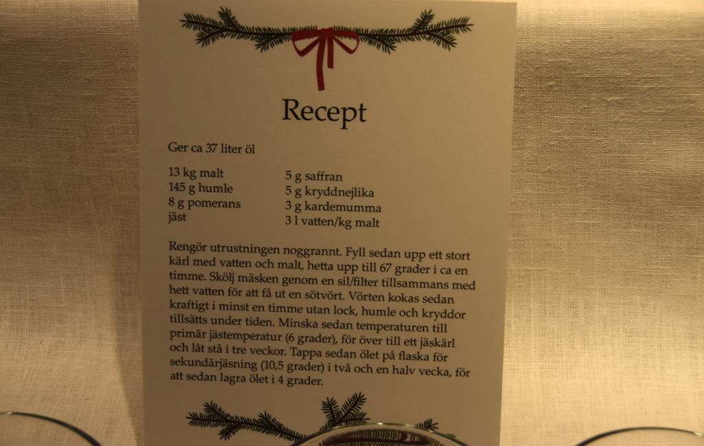 Bier-Rezept