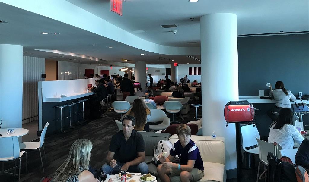 MIA-Avianca-Lounge