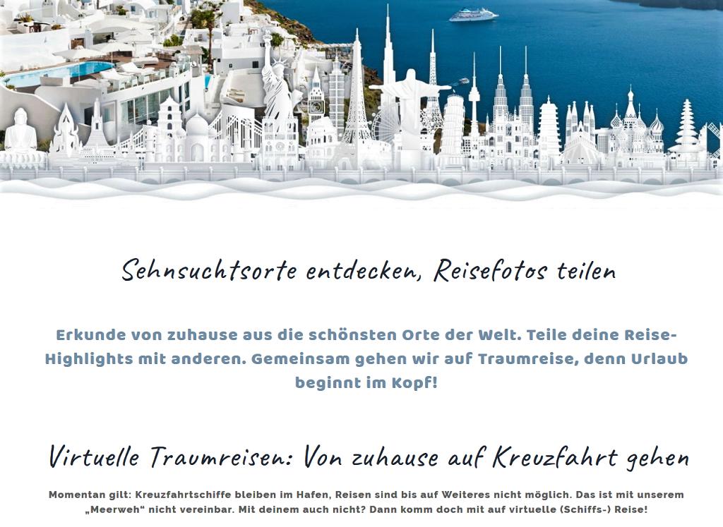 Screenshot-wegtraeumen.de