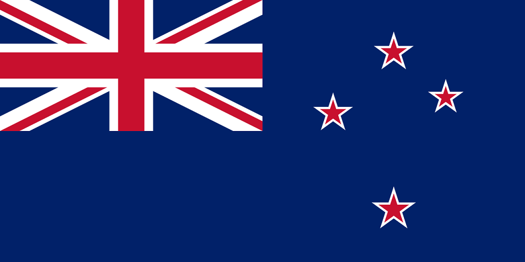 Flagge Neuseeland-K
