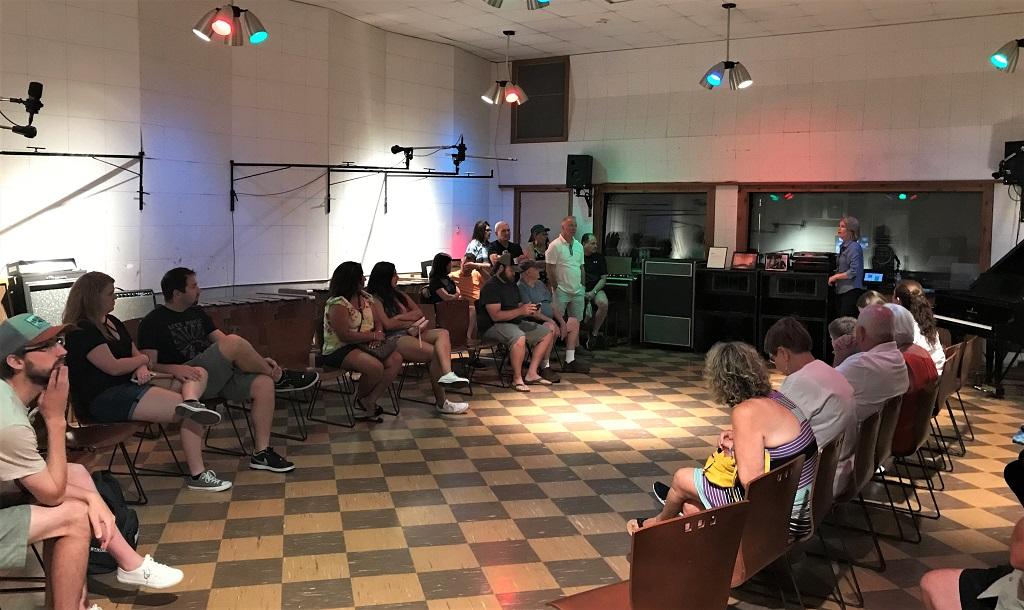 Studio B Nashville – Fuehrung