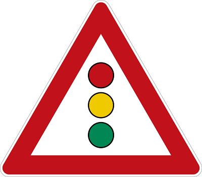 AMPEL-Warnzeichen-K