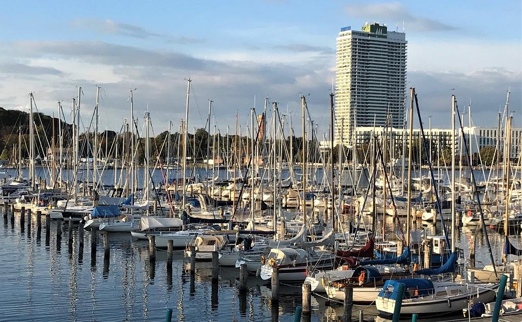 Yachthafen-von Balkon